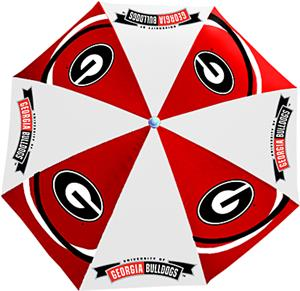 Northwest NCAA Univ. of Georgia Beach Umbrella