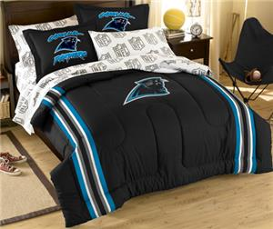 Northwest NFL Carolina Panthers Full Bed In A Bag