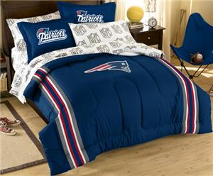Northwest NFL Patriots Full Bed In A Bag