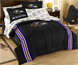 Northwest NFL Baltimore Ravens Full Bed In A Bag