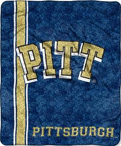 Northwest NCAA Pittsburgh Jersey Sherpa Throw
