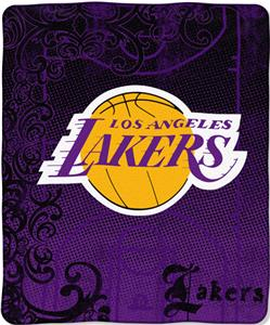 Northwest NBA LA Lakers 50x60 Micro Raschel Throw