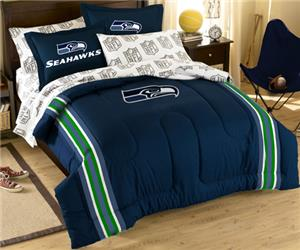 Northwest NFL Seattle Seahawks Full Bed In A Bag