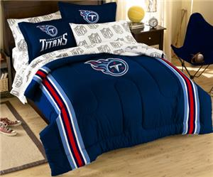 Northwest NFL Tennessee Titans Full Bed In A Bag