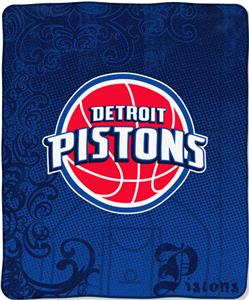 "Northwest NBA Detroit Pistons 50""x60"" Throw"