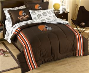 Northwest NFL Cleveland Browns Comforter Sets