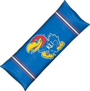 Northwest NCAA Univ. of Kansas Body Pillow