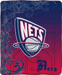 "Northwest NBA New Jersey Nets 50""x60"" Throw"