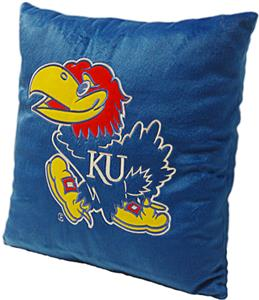 Northwest NCAA Univ. of Kansas Plush Pillow