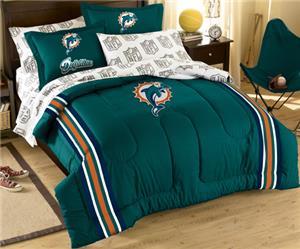 Northwest NFL Miami Dolphins Comforter Sets