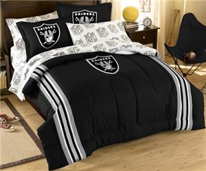 Northwest NFL Oakland Raiders Comforter Sets