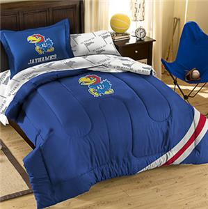 Northwest NCAA Univ. Kansas Twin Bed in Bag Set
