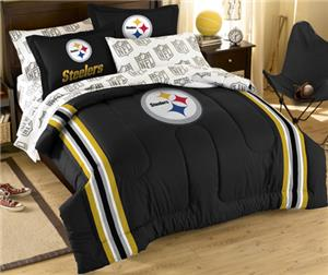 Northwest NFL Pittsburgh Steelers Comforter Sets