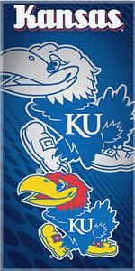 Northwest NCAA Univ. of Kansas Beach Towel