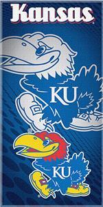 Northwest NCAA Univ. of Kansas Beach Towel