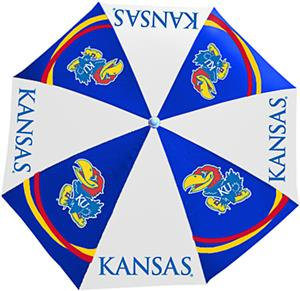 Northwest NCAA University of Kansas Beach Umbrella