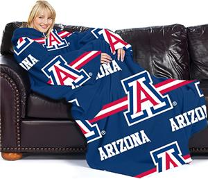 Northwest NCAA Arizona Comfy Throw (Stripes)