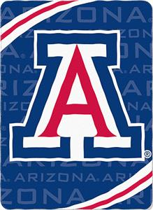 Northwest NCAA Arizona Fleece Force Throw