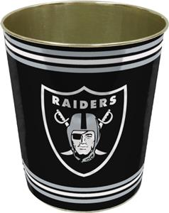 Northwest NFL Oakland Raiders Wastebaskets