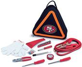 Picnic Time NFL San Francisco 49ers Roadside Kit