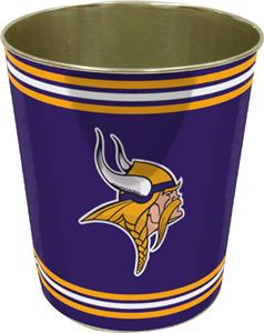 Northwest NFL Minnesota Vikings Wastebaskets