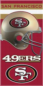 Northwest NFL San Francisco 49ers Beach Towels