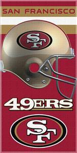 Northwest NFL San Francisco 49ers Beach Towels