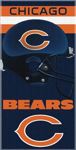 Northwest NFL Chicago Bears Beach Towels