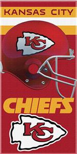 Northwest NFL Kansas City Chiefs Beach Towels