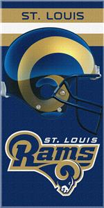 Northwest NFL St. Louis Rams Beach Towels