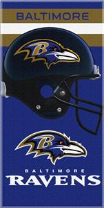 Northwest NFL Baltimore Ravens Beach Towels