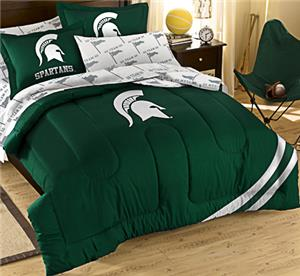 Northwest NCAA Michigan State Full Bed in Bag Set