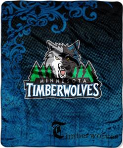 Northwest NBA Minnesota Timberwolves 50&quot;x60&quot; Throw
