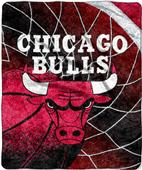 "Northwest NBA Chicago Bulls 50""x60"" Sherpa Throw"