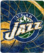 "Northwest NBA Utah Jazz 50""x60"" Sherpa Throw"