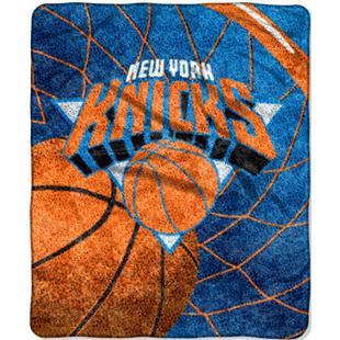 "Northwest NBA New York Knicks 50""x60"" Sherpa Throw"