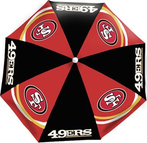 Northwest NFL San Francisco 49ers Beach Umbrellas