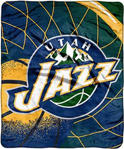"Northwest NBA Utah Jazz Reflect 50""x60"" Throw"