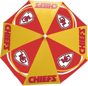 Northwest NFL Kansas City Chiefs Beach Umbrellas
