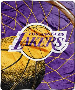 "Northwest NBA LA Lakers Reflect 50""x60"" Throw"