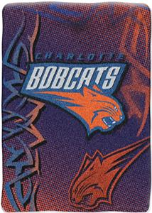 "Northwest NBA Charlotte Bobcats 60""x80"" Throw"