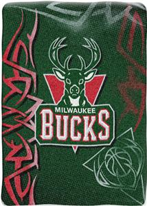 "Northwest NBA Milwaukee Bucks 60""x80"" Throw"