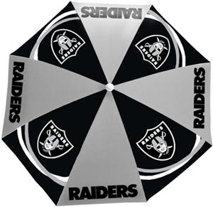 Northwest NFL Oakland Raiders Beach Umbrellas