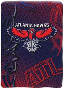 Northwest NBA Atlanta Hawks 60&quot;x80&quot; Throw