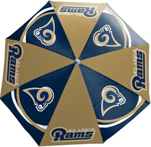 Northwest NFL St. Louis Rams Beach Umbrellas