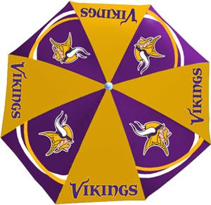 Northwest NFL Minnesota Vikings Beach Umbrellas