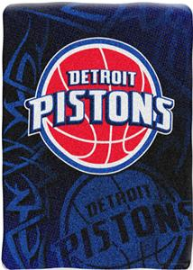 "Northwest NBA Detroit Pistons 60""x80"" Throw"