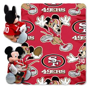 "Northwest NFL San Francisco 49ers 50"" Mickey Throw"