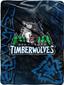 Northwest NBA Minnesota Timberwolves 60x80 Throw