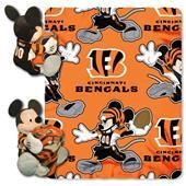 """Northwest NFL Cincinnati Bengals 50"""" Mickey Throws"""